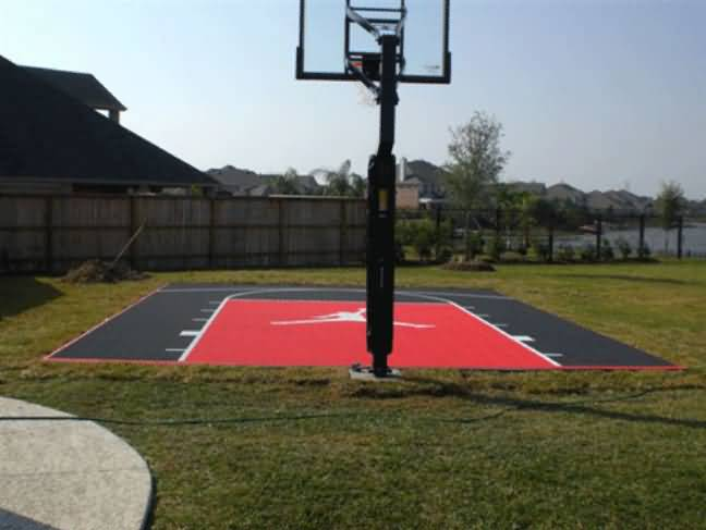 Basketball Court Tile Flooring Options Sports Flooring At Builtrite