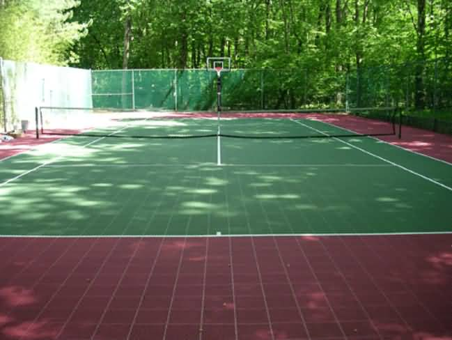 Tennis Court Tiles Flooring Options Sports Flooring At
