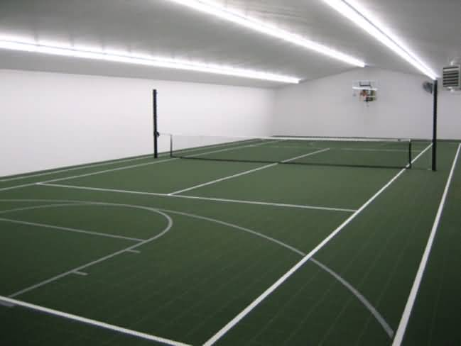 Tennis Court Tiles Flooring Options Sports Flooring At Builtrite