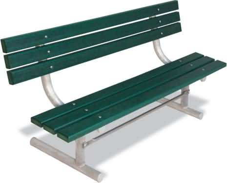 Plastic Park Benches For Sale At Builtrite Bleachers Com