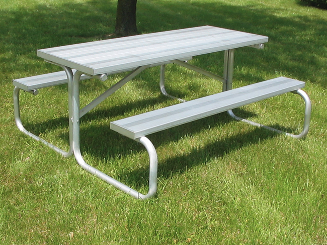 All Aluminum Picnic Table 6',8',12', & 15'