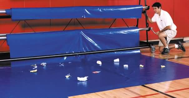 Gym Floor Covers At Builtrite Bleachers