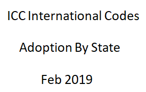 ICC Code Adoption by State