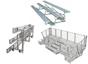 Large selection of bleachers