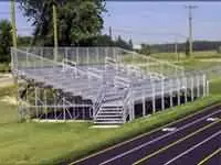 elevated bleachers