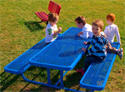 kids picnic table photo