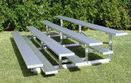 Low Rise Bleachers (single footplanks)