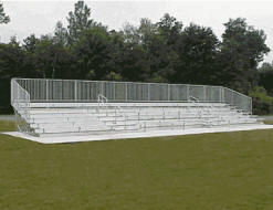 Custom Non-elevated Bleachers